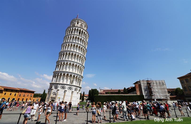 Torre Pendente (tour penchée)
